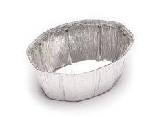 Envases de aluminio ovalados