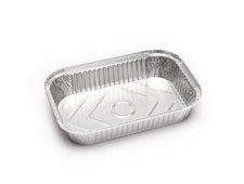 Envases de aluminio rectangulares